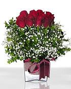 Niğde çiçek gönderme sitemiz güvenlidir  11 adet gül mika yada cam - anneler günü seçimi -