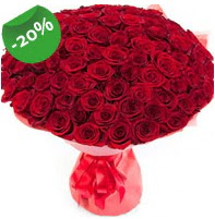 Özel mi Özel buket 101 adet kırmızı gül  Niğde online çiçek gönderme sipariş