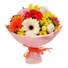 Karışık mevsim buketi Mevsimsel çiçek  Niğde hediye çiçek yolla