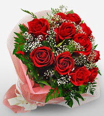 12 adet kırmızı güllerden kaliteli gül  Niğde çiçekçi mağazası