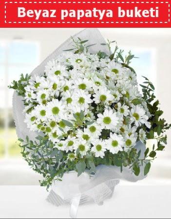 Beyaz Papatya Buketi  Niğde çiçek siparişi vermek