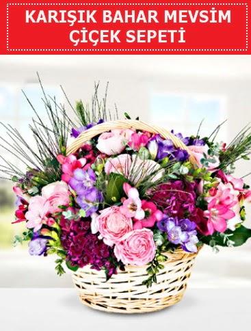 Karışık mevsim bahar çiçekleri  Niğde çiçek yolla