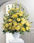 Niğde çiçek satışı  sari güllerden sebboy tanzim çiçek siparisi