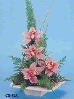 Niğde çiçek yolla , çiçek gönder , çiçekçi   vazoda 4 adet orkide