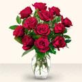 Niğde yurtiçi ve yurtdışı çiçek siparişi  10 adet gül cam yada mika vazo da