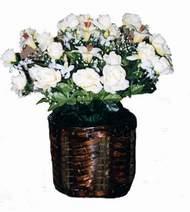 yapay karisik çiçek sepeti   Niğde internetten çiçek satışı