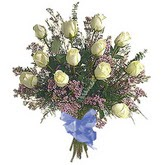 bir düzine beyaz gül buketi   Niğde güvenli kaliteli hızlı çiçek