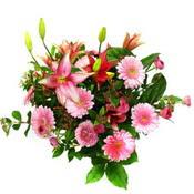 lilyum ve gerbera çiçekleri - çiçek seçimi -  Niğde online çiçekçi , çiçek siparişi