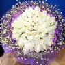 71 adet beyaz gül buketi   Niğde çiçek gönderme sitemiz güvenlidir