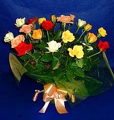 Niğde çiçek gönderme  13 adet karisik renkli güller