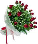 Niğde çiçek , çiçekçi , çiçekçilik  11 adet kirmizi gül buketi sade ve hos sevenler