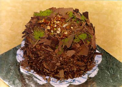Çikolatali 4 ila 6 kisilik yas pasta  Niğde güvenli kaliteli hızlı çiçek