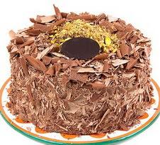 çikolatali 4 ile 6 kisilik yas pasta  Niğde uluslararası çiçek gönderme