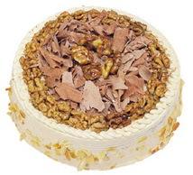 Karamelli 4 ile 6 kisilik yas pasta  Niğde yurtiçi ve yurtdışı çiçek siparişi
