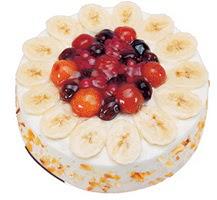 Meyvali 4 ile 6 kisilik yas pasta leziz  Niğde çiçek yolla