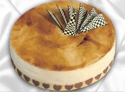taze pasta 4 ile 6 kisilik yas pasta karamelli yaspasta  Niğde ucuz çiçek gönder