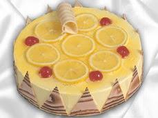 taze pastaci 4 ile 6 kisilik yas pasta limonlu yaspasta  Niğde çiçek siparişi sitesi