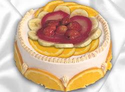 leziz pastane 4 ile 6 kisilik yas pasta meyvali yaspasta  Niğde anneler günü çiçek yolla
