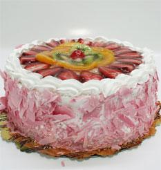 görsel pastacilar 4 ile 6 kisilik yas pasta karisik meyvali  Niğde cicekciler , cicek siparisi