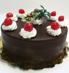 4 ile 6 kisilik yas pasta çikolatali taze pastaci  Niğde online çiçek gönderme sipariş