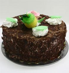 4 ile 6 kisilik yas pasta çikolatali leziz pastane ürünü  Niğde çiçekçiler