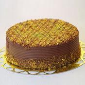sanatsal pastaci 4 ile 6 kisilik krokan çikolatali yas pasta  Niğde internetten çiçek satışı