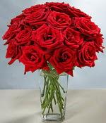 Niğde çiçek satışı  Sevdiklerinize özel ürün 12 adet cam içerisinde kirmizi gül  Niğde çiçek gönderme