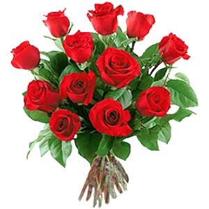 11 adet bakara kirmizi gül buketi  Niğde hediye sevgilime hediye çiçek