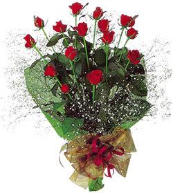 11 adet kirmizi gül buketi özel hediyelik  Niğde çiçekçi telefonları