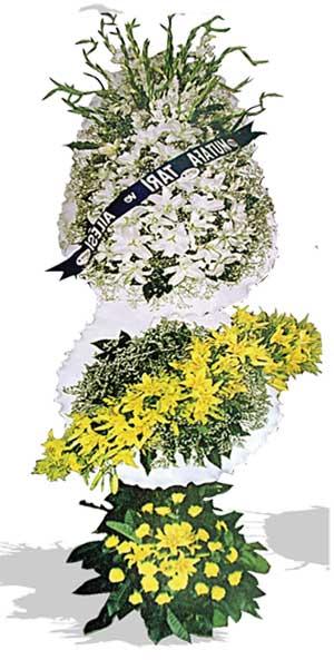 Dügün nikah açilis çiçekleri sepet modeli  Niğde çiçek gönderme sitemiz güvenlidir