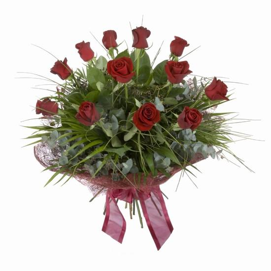 Etkileyici buket 11 adet kirmizi gül buketi  Niğde çiçek , çiçekçi , çiçekçilik