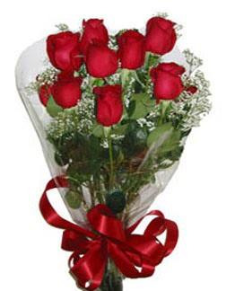 Çiçek sade gül buketi 7 güllü buket  Niğde çiçek siparişi sitesi