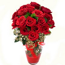 Niğde çiçek satışı   9 adet kirmizi gül