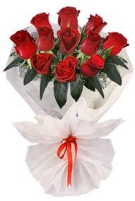 11 adet gül buketi  Niğde hediye çiçek yolla  kirmizi gül