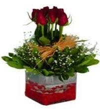 Niğde online çiçekçi , çiçek siparişi  7 adet mika yada cam vazoda gül tanzimi