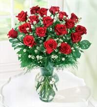 Niğde çiçek , çiçekçi , çiçekçilik  9 adet mika yada vazoda kirmizi güller