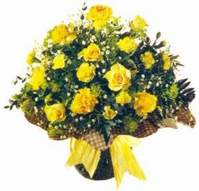 Niğde çiçek gönderme sitemiz güvenlidir  Sari gül karanfil ve kir çiçekleri