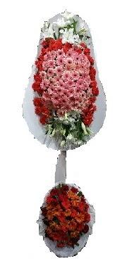 çift katlı düğün açılış sepeti  Niğde çiçek , çiçekçi , çiçekçilik