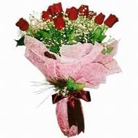 Niğde çiçek satışı  12 adet kirmizi kalite gül