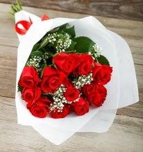 9 kırmızı gülden buket çiçeği  Niğde online çiçekçi , çiçek siparişi