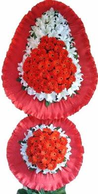 Niğde çiçek siparişi sitesi  Çift katlı kaliteli düğün açılış sepeti