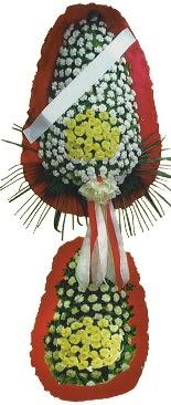 Çift katlı düğün açılış çiçeği  Niğde uluslararası çiçek gönderme