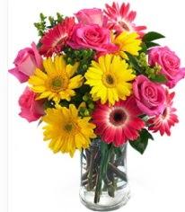 Vazoda Karışık mevsim çiçeği  Niğde çiçekçi telefonları