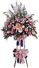 Niğde hediye sevgilime hediye çiçek   Ferforje Pembe kazablanka