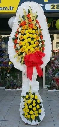 Çift katlı düğün nikah açılış çiçeği  Niğde hediye sevgilime hediye çiçek