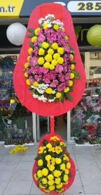 Çift katlı düğün nikah açılış çiçek modeli  Niğde çiçek siparişi sitesi