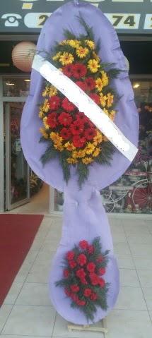 Çift katlı nikah düğüne çiçek modeli  Niğde hediye çiçek yolla