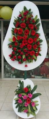 Çift katlı düğün nikah açılış çiçek modeli  Niğde hediye çiçek yolla
