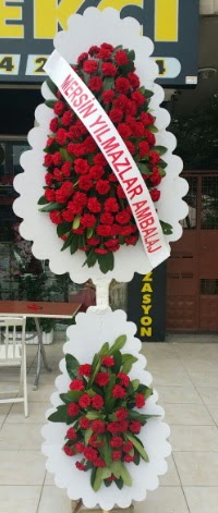 Çift katlı düğün nikah çiçeği modeli  Niğde çiçek gönderme