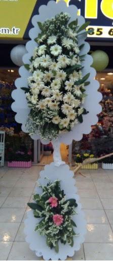 Çift katlı düğün nikah açılış çiçeği  Niğde çiçek yolla , çiçek gönder , çiçekçi